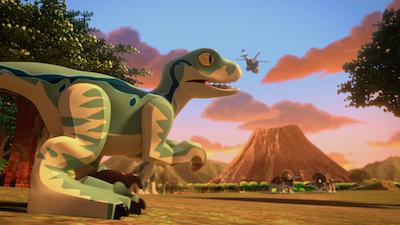 Nickelodeon: Lego Jurassic Trailer
